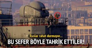Λάλησαν οι Τούρκοι …Τους σμπαράλιασαν τα νεύρα οι Ρώσοι!