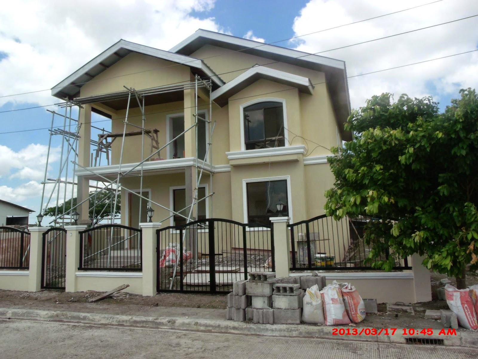 Savannah trails house construction project in oton iloilo for 2 story house design