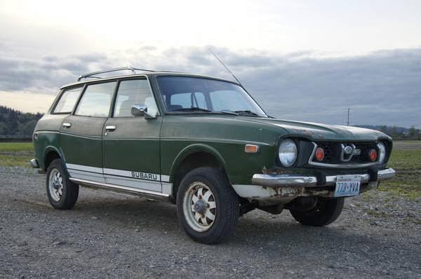 Rare 1975 Subaru Wagon 4wd For Sale 4x4 Cars