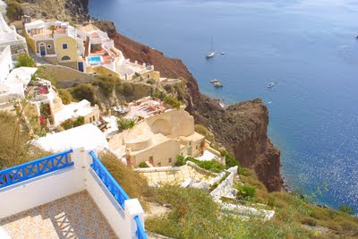santorini greece honeymoon