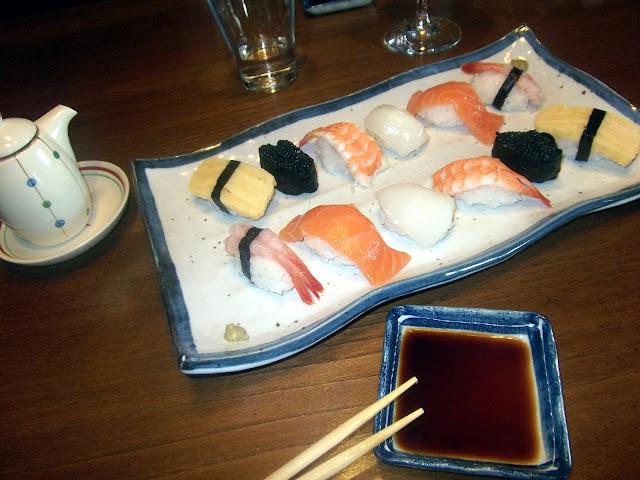 restaurante japonés Fuente la Lloba Asturias comida japonesa