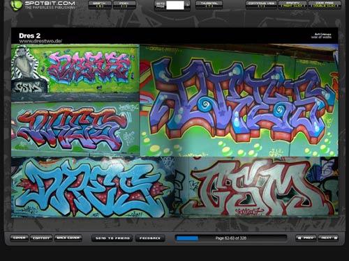 letras de graffiti. de letras para graffiti