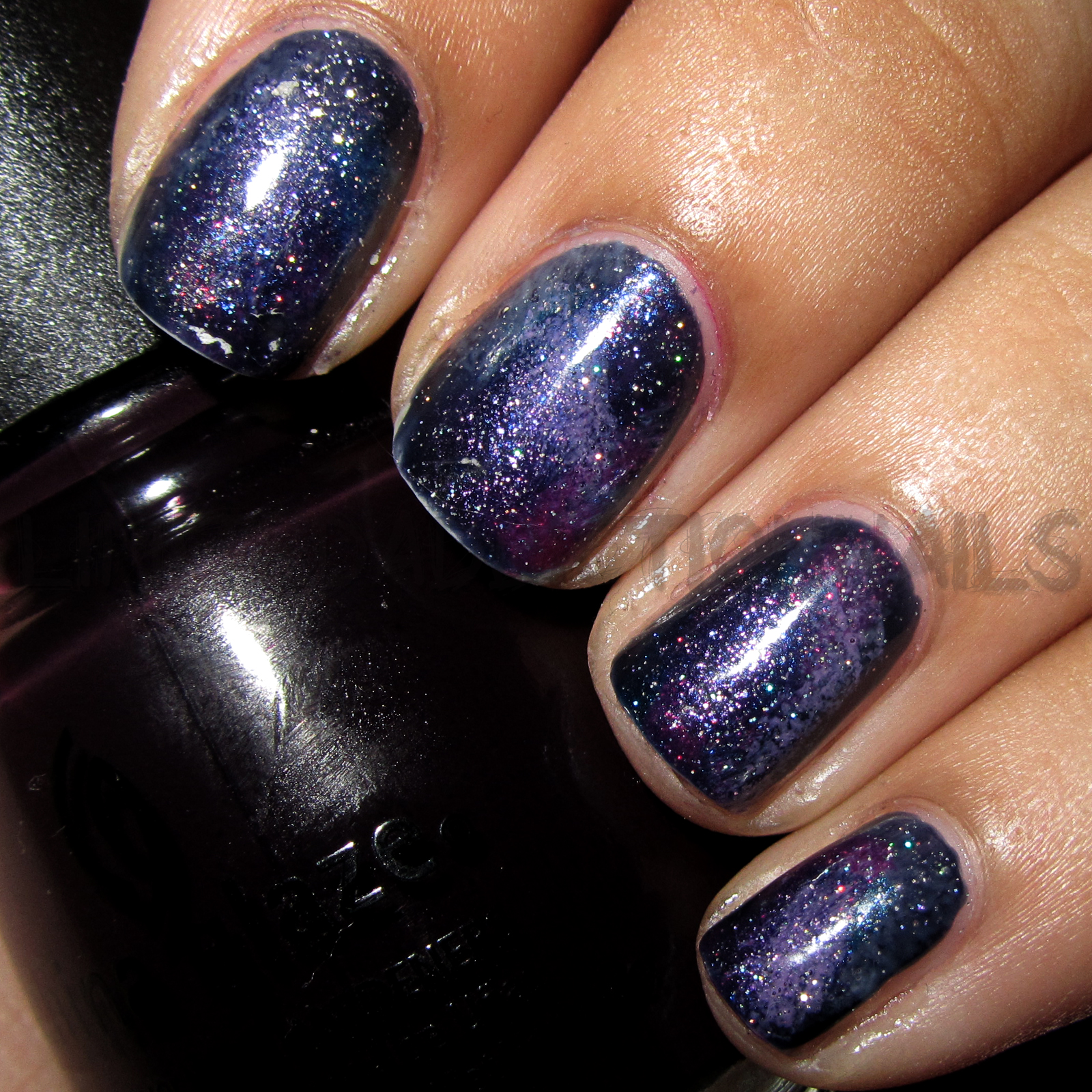 The first time I tried galaxy nails was August 19th to be exact :P I ...