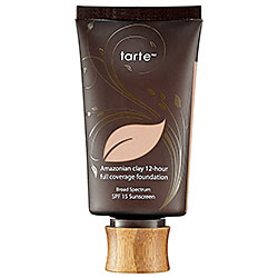 tarte Amazonian clay 12-hour full coverage foundation Review