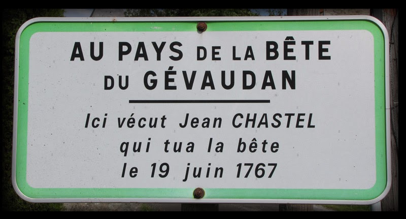 Sign at Besseyres-Sainte-Marie saying home of Jean Chastel