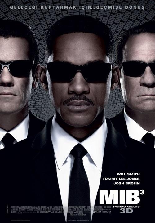 Siyah Giyen Adamlar 3 (2012) 720p Film indir
