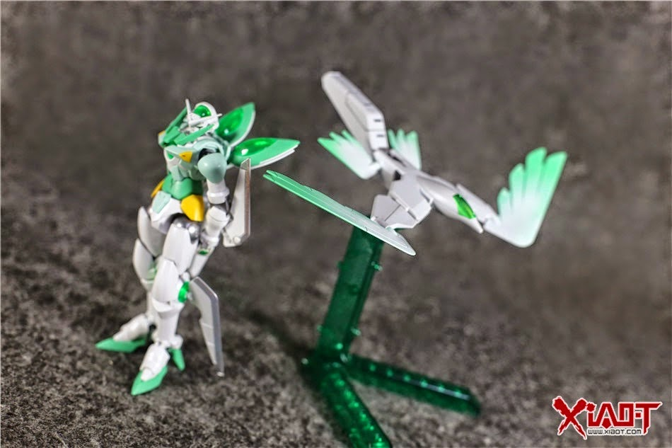 Gundam family hgbf 1 144 gundam portent portent flyer for Portent flyer 1999