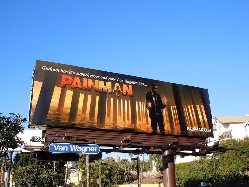 Painman billboard