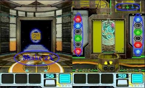 100 Doors Aliens Space Level 56 57 58 59 Walkthrough