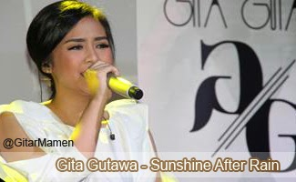 lyric gita gutawa sunshine after rain