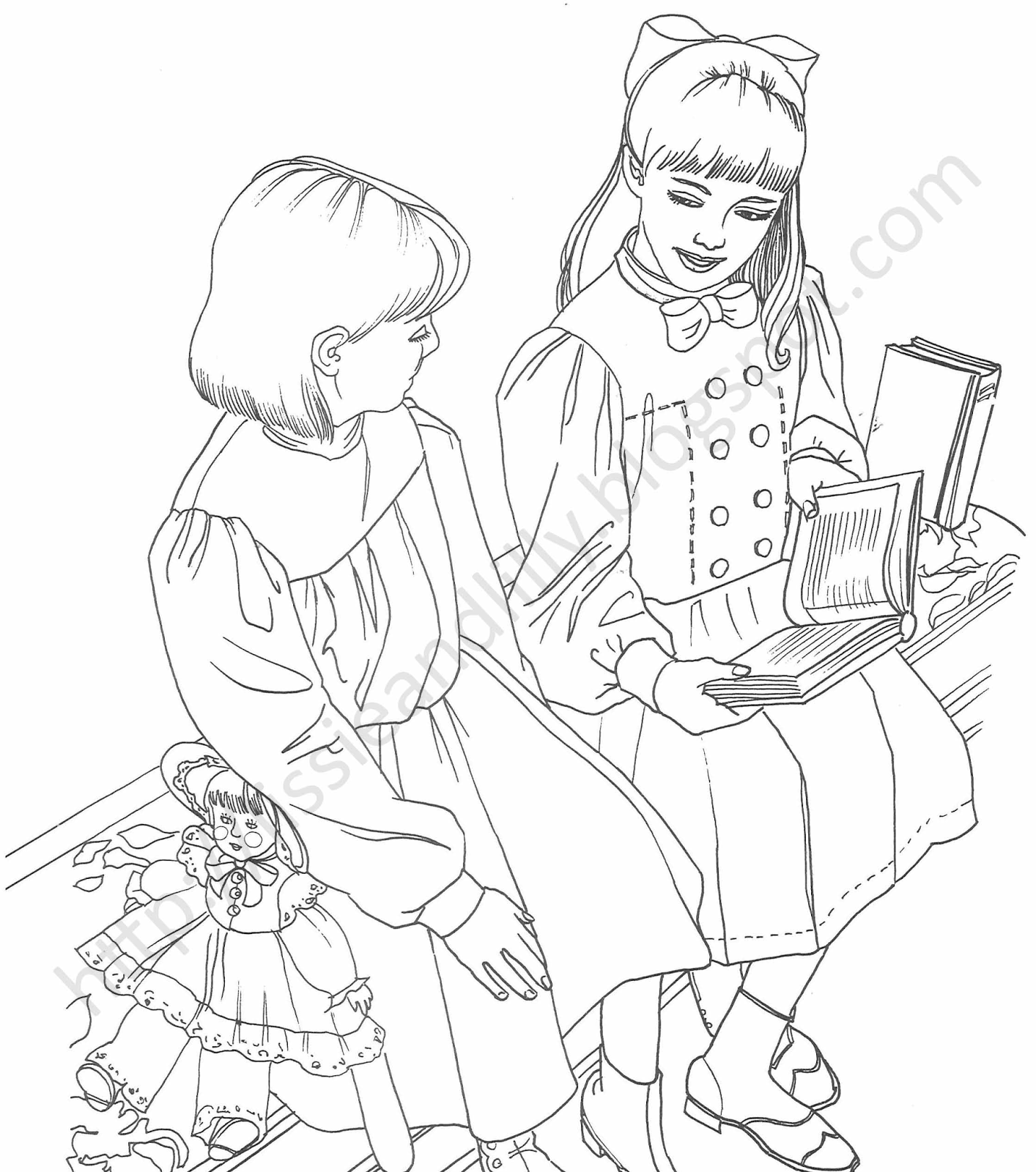 samanthas coloring pages