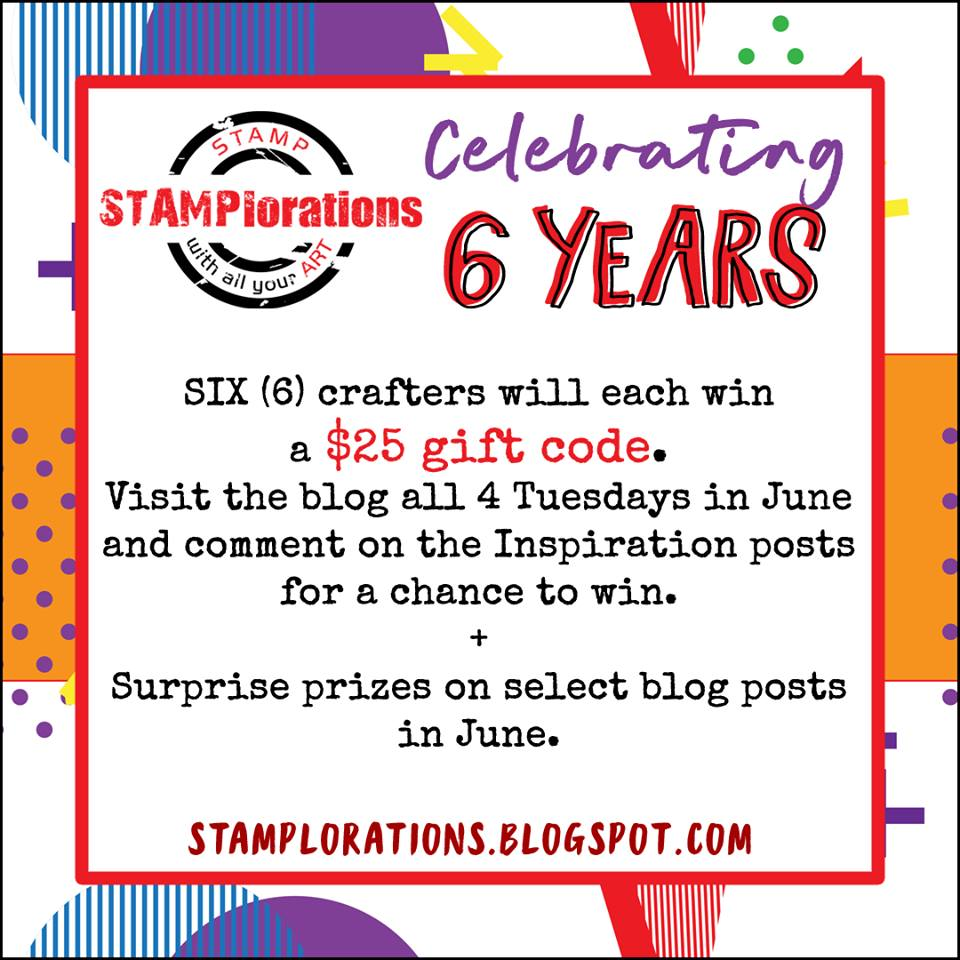 STAMPlorations is turning 6!