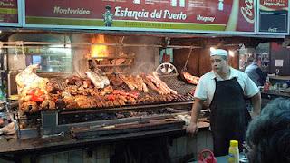 asado mercado del puerto uruguay montevideo