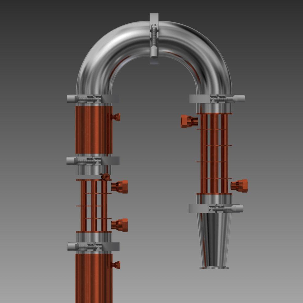 reflux still design copper moonshine stills beer keg moonshine still ...