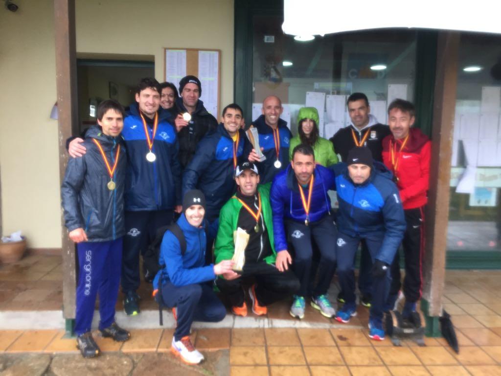 Campeones de España de Cross M40 y Subcampeones M35 (Candeleda, 2018)