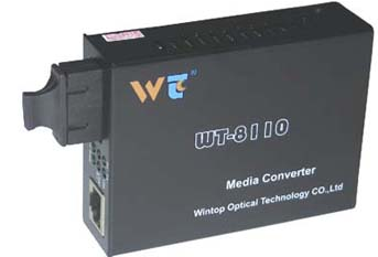 Converter quang 10/100Mbps Wintop WT-8110