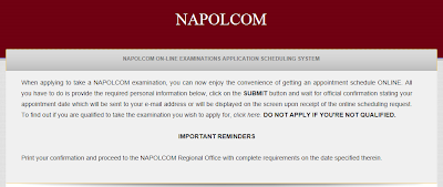 NAPOLCOM opens On-line Examination Application Scheduling System (OLEASS)