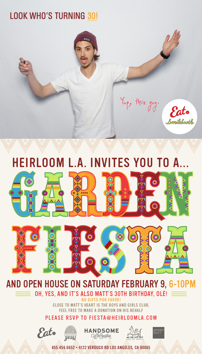 Heirloom Garden Fiesta