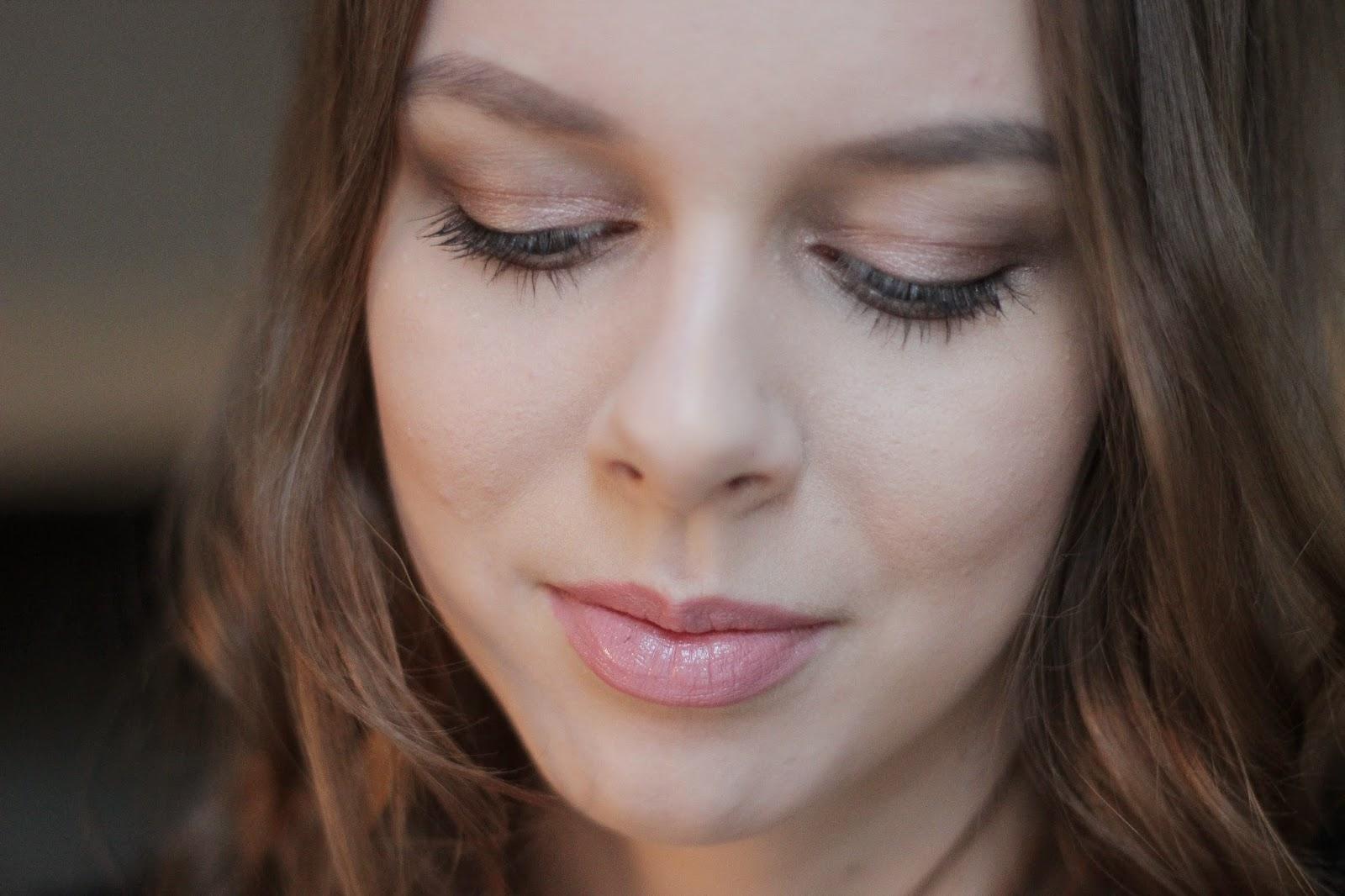 winter make-up look