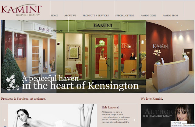 The brand new Kamini Beauty web site