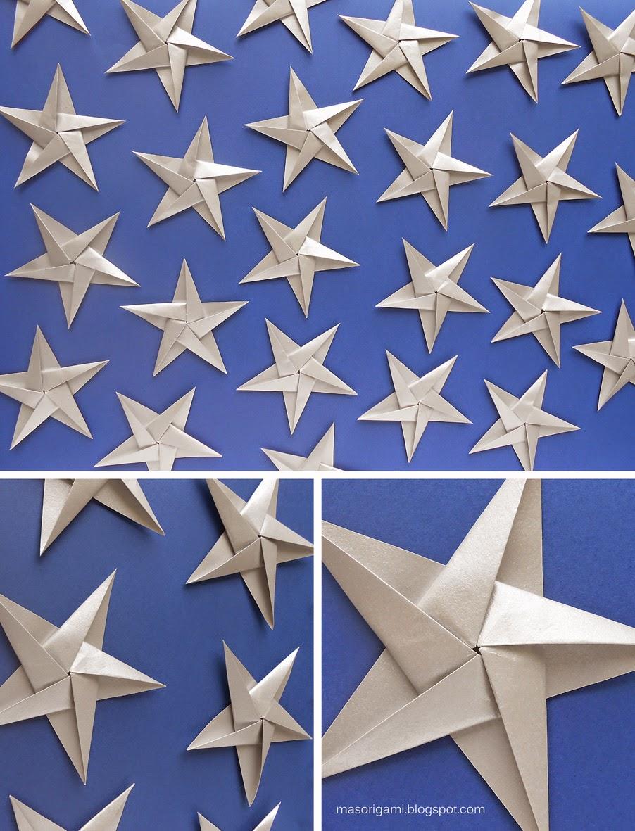 Como hacer una estrella ninja de papel paso a paso youtube - Origami de una estrella ...