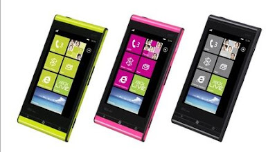 Fujitsu IS12T WP7 Mango Phone