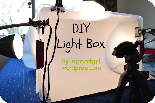 DIY Light Box by Bethany the ngnrdgrl