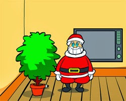 Juegos de Escape Santa Claus Saw Game