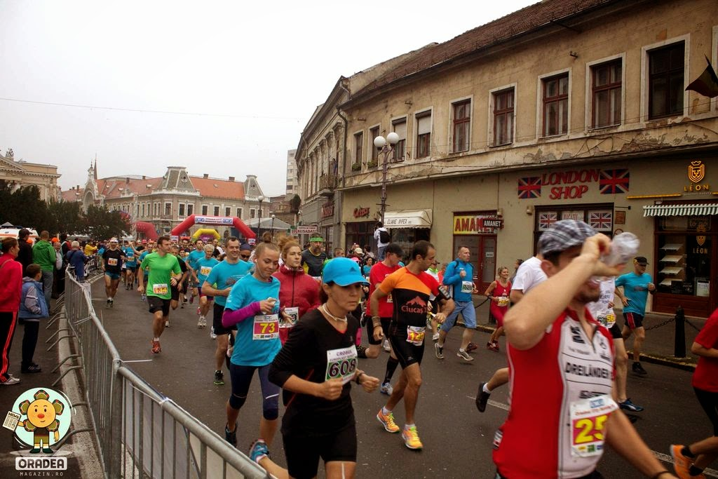 Oradea City Running Day 2014. Start