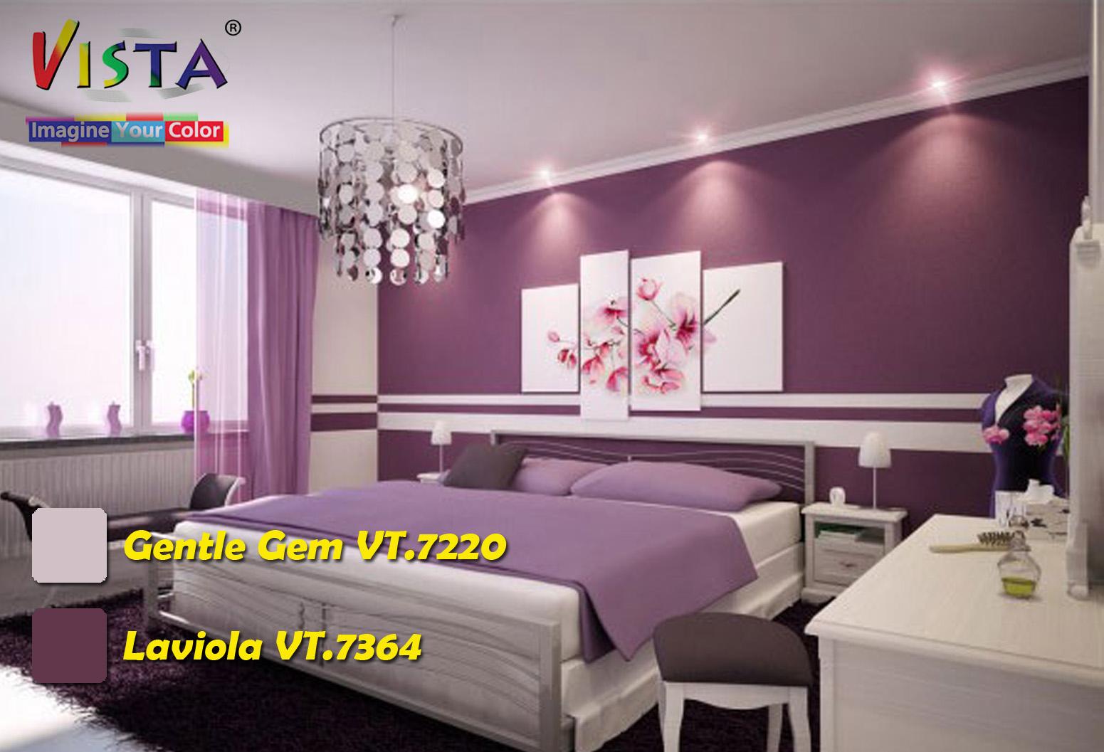 contoh cat kamar tidur contoh cat ruang tamu contoh warna