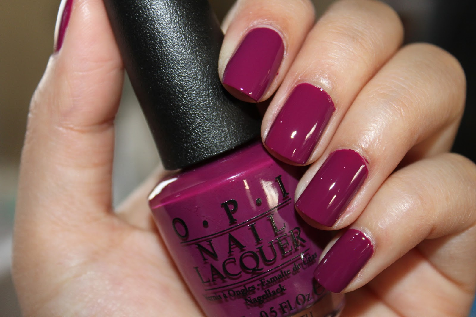 If You Re In The Market For A Gorgeous Creme Plum Polish Opi Anti Bleak Is