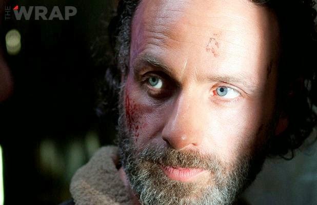 """Rick Grimes en el  final de la cuarta temporada de """"The Walking Dead"""""""