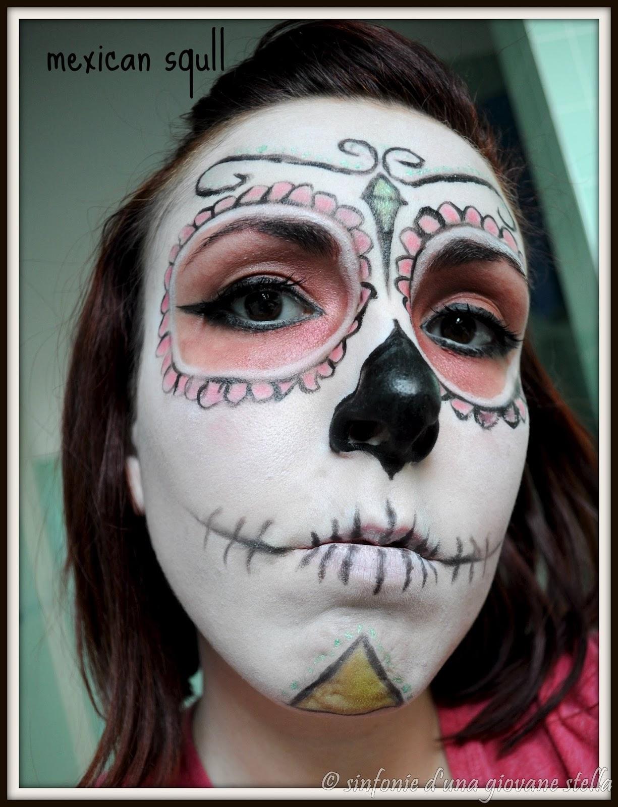 make up ● sugar squll aka teschio messicano make up