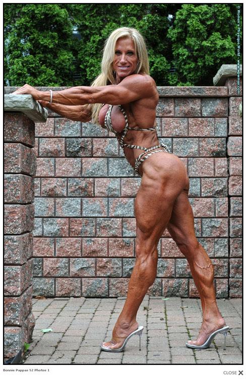 Bonnie Pappas Female Muscle Bodybuilding Blog WPWMAX
