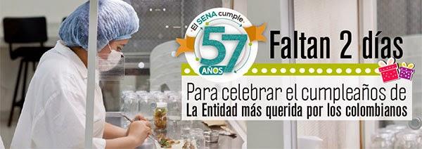 Faltan dos días para celebrar el cumpleaños de la entidad más querida por los colombianos. SENA, 57 años