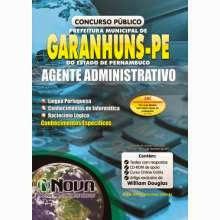 Apostila Agente Administrativo Garanhuns PE 2015