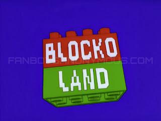 Blocko leeches Simpsons parody Lego