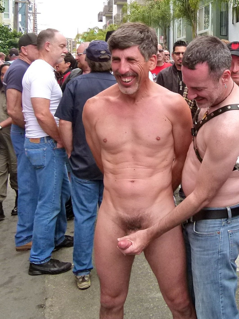 Hot Men Naked In Public