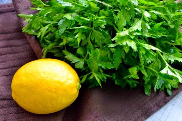 وصفة الليمون والبقدونس لخسارة الوزن سريعا