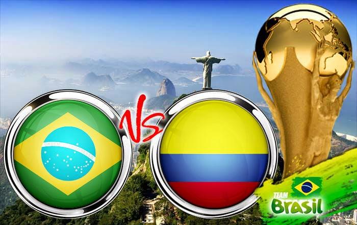 Prediksi Skor Brasil vs Kolombia 5 Juli 2014 Piala Dunia