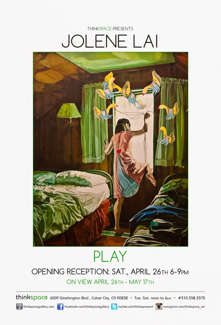 'Play' | Solo Exhibition by Jolene Lai at Thinkspace Gallery