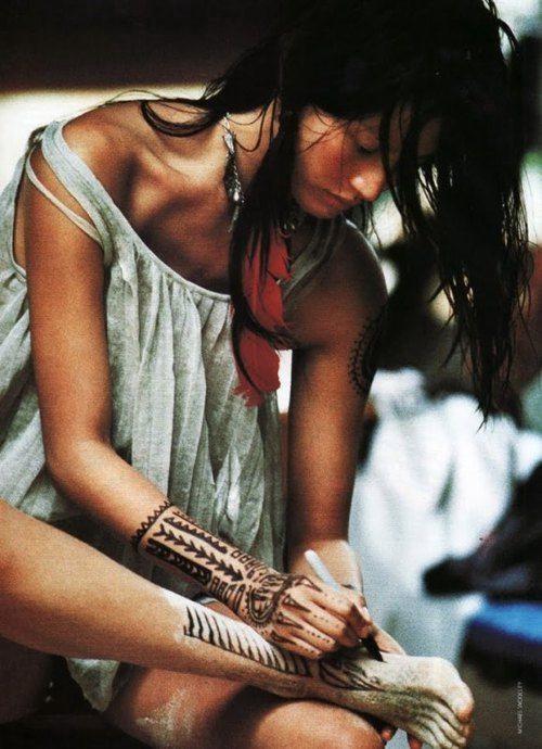 Tattoo art on pinterest third eye native american art for Indian ink tattoo