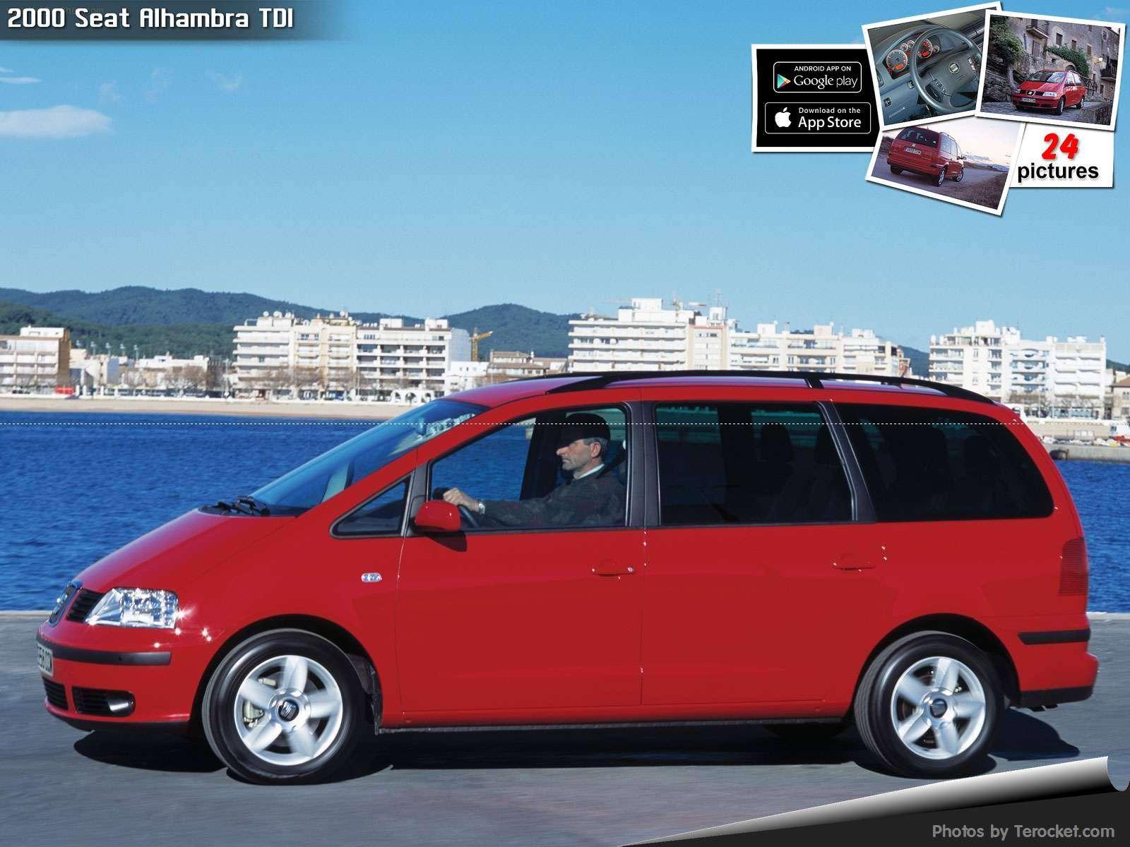 Hình ảnh xe ô tô Seat Alhambra TDI 2000 & nội ngoại thất