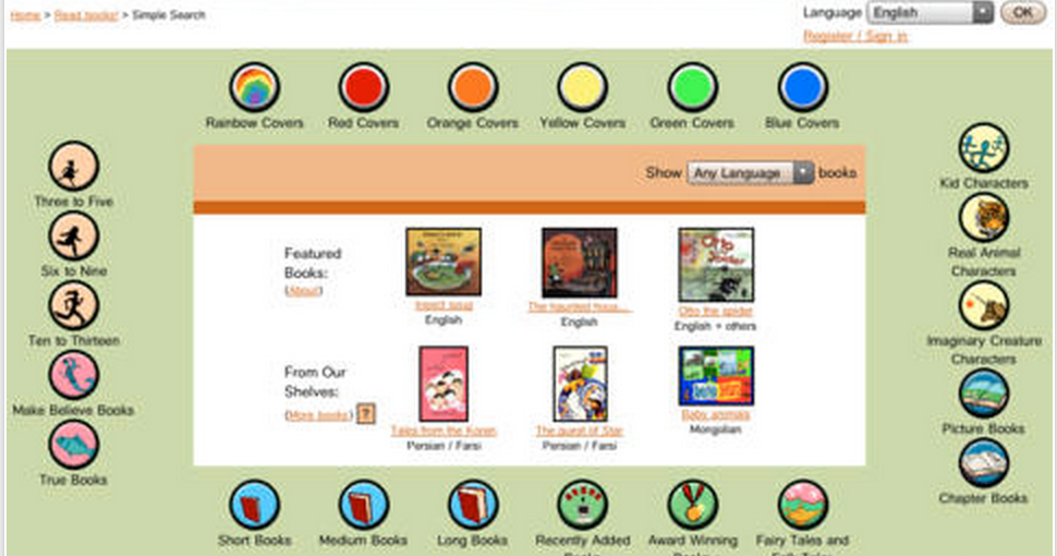International Children's Digital Library Offers Tons of Free eBooks for Kids