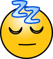 Sleepy emoticon facebook
