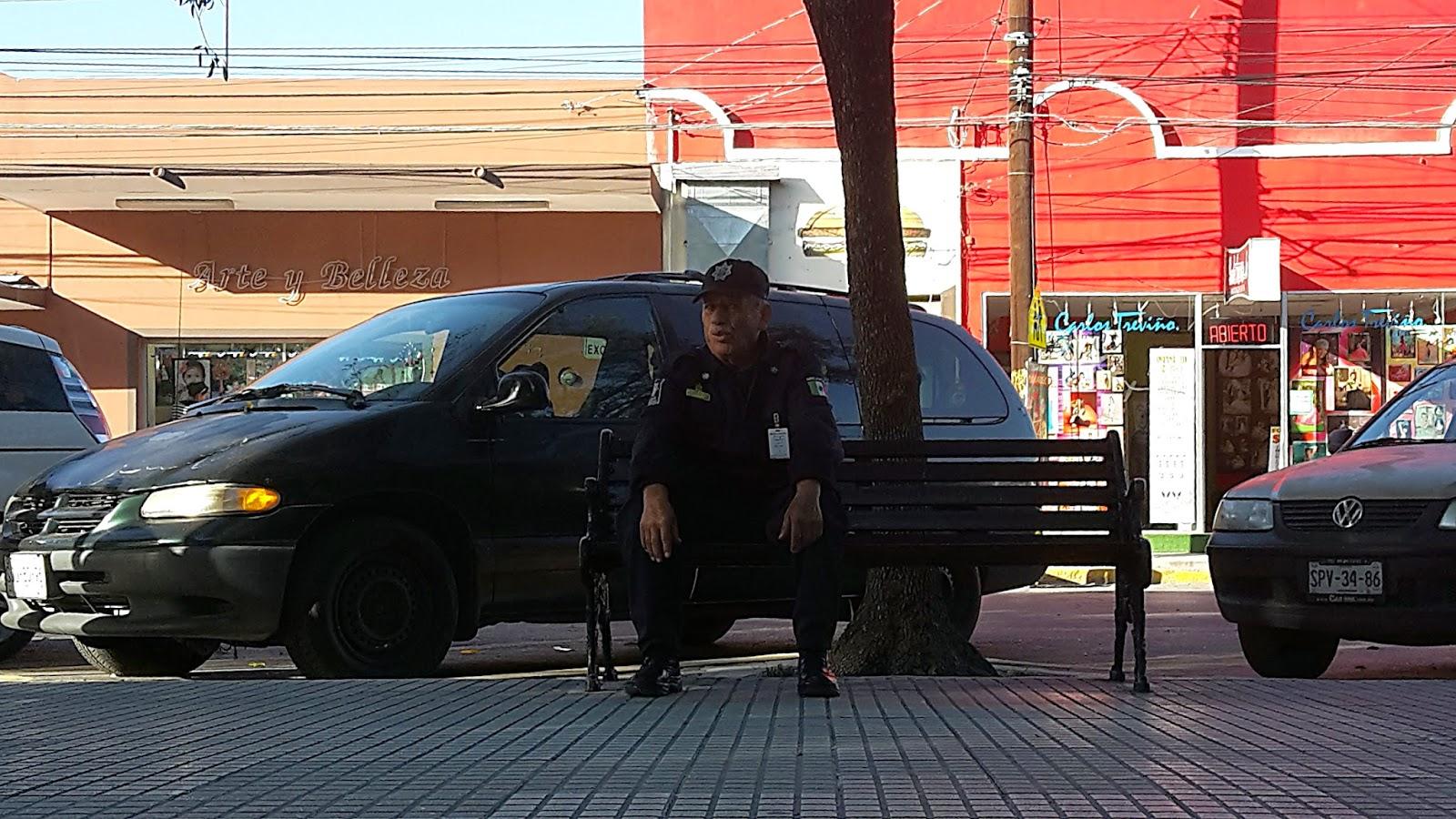 Policía curioso