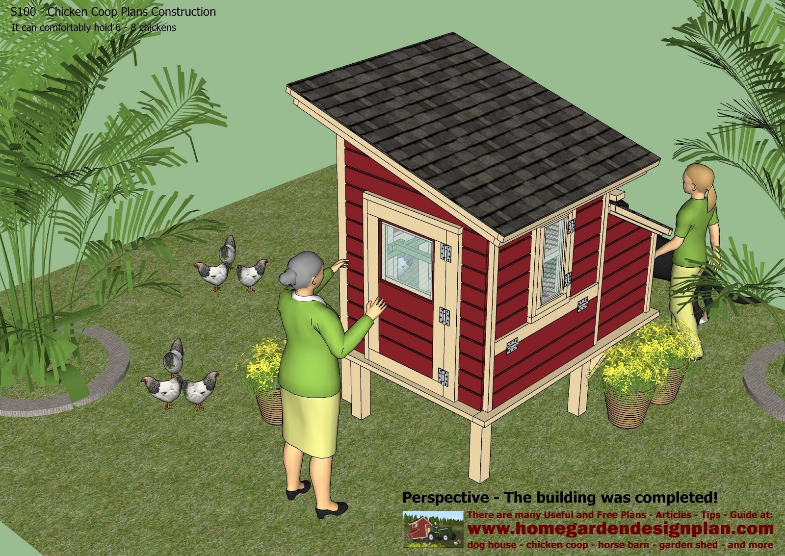 Plans to build a chicken coop for Diy small chicken coop