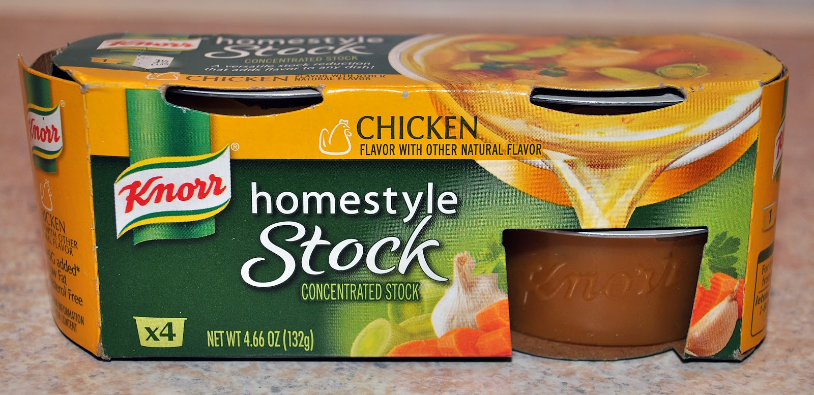 Knorr® Homestyle Stock Chicken i Also Received a Booklet Full