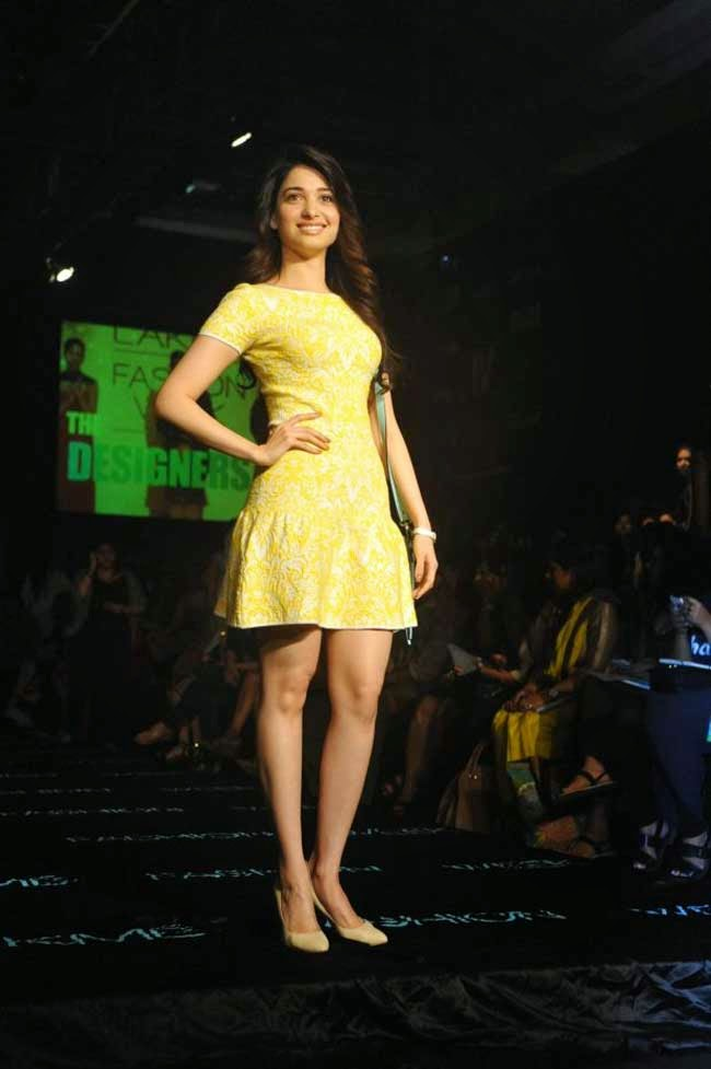 Tamannaah Bhatia at LFW Summer Resort 2014
