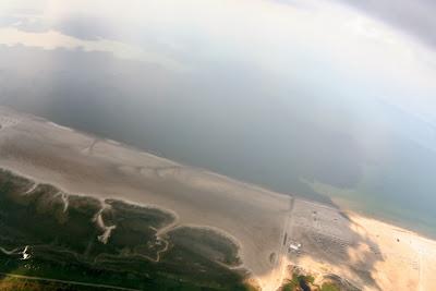 St. Peter-Ording: Fotos eines Tandem-Fallschirmabsprunges über dem ordinger Strand 31